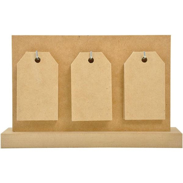 Beyond The Page MDF Tag Calendar W/14 Tags