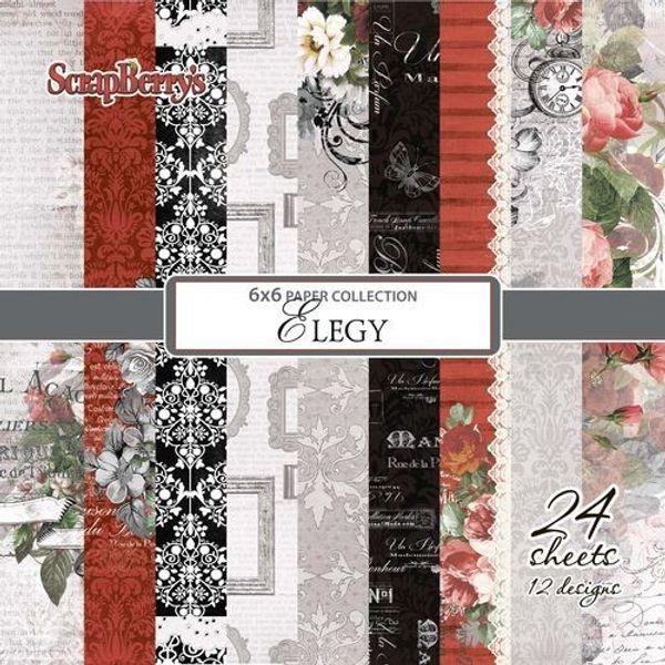 "Elegy 6""X 6"" Paper Set"