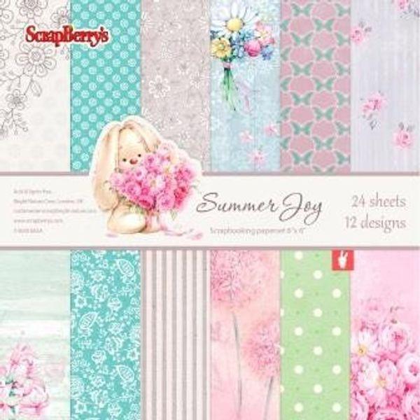 "Summer Joy 6"" X 6"" Paper Set"