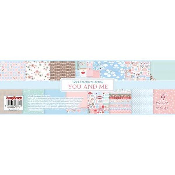 You & Me 12x12 Paper Pad