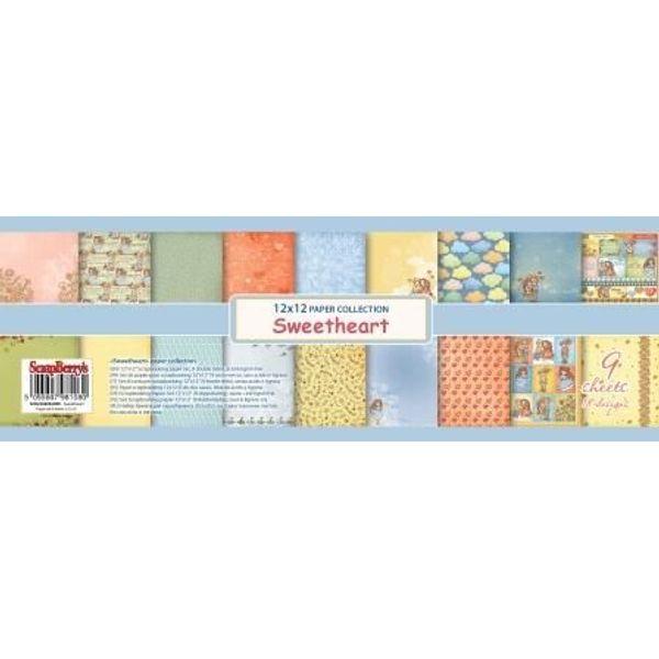 Sweetheart 12x12 Paper Pad
