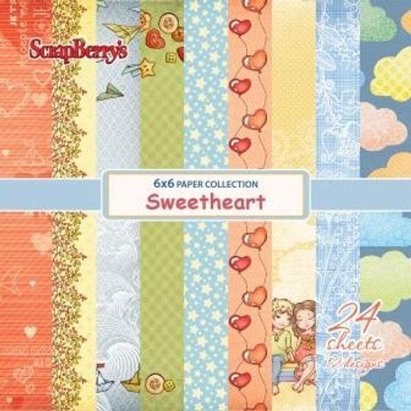 "Sweetheart 6"" X 6"" Paper Set"