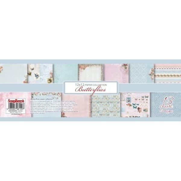 Butterflies 12x12 Paper Pad