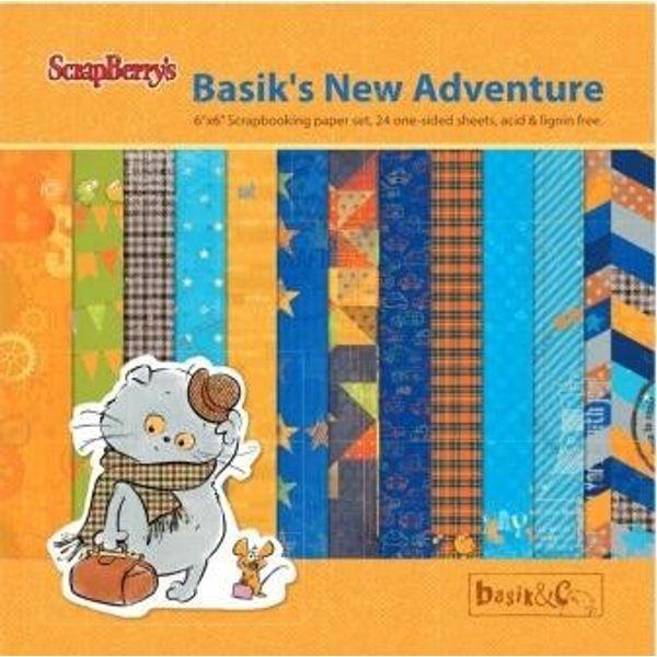 "Basik's New Adventure 6"" X 6"" Paper Pad"