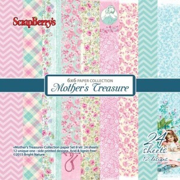 "Mother's Treasure 6"" X 6"" Paper set"