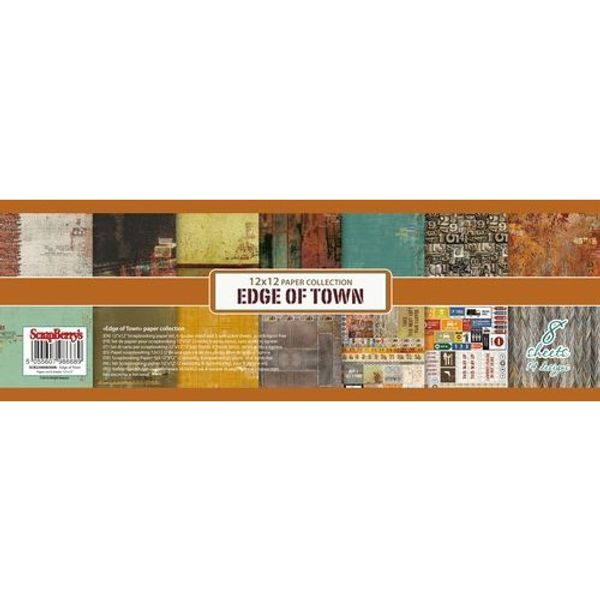 Edge of Town 12x12 Paper Pad