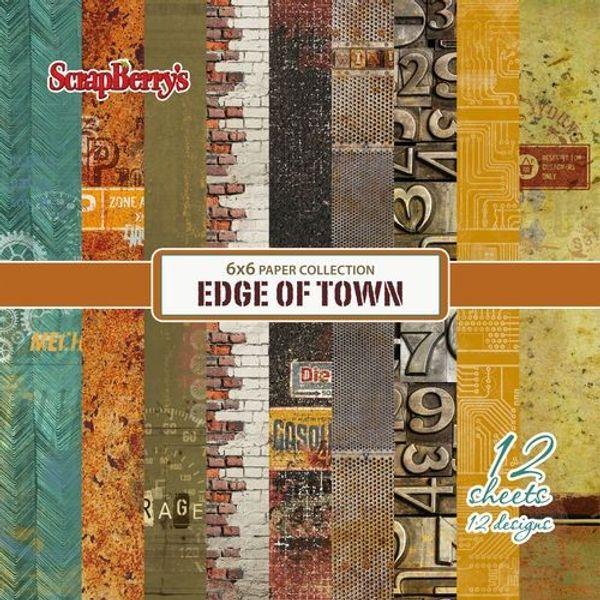 "Edge of Town - 6"" X 6"""