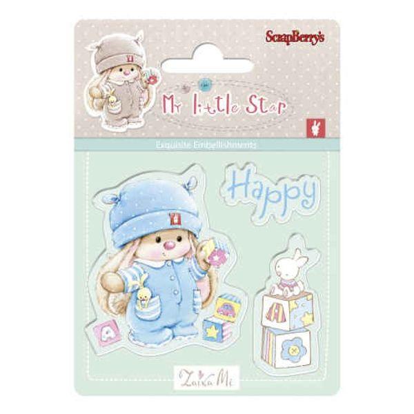 Bunny My Little Star Stamp - Bunny Birthday