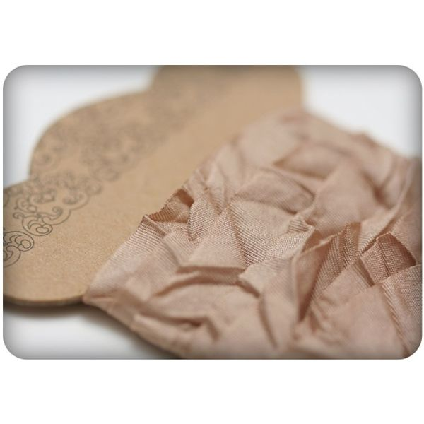 Shabby Ribbon - Light Brown
