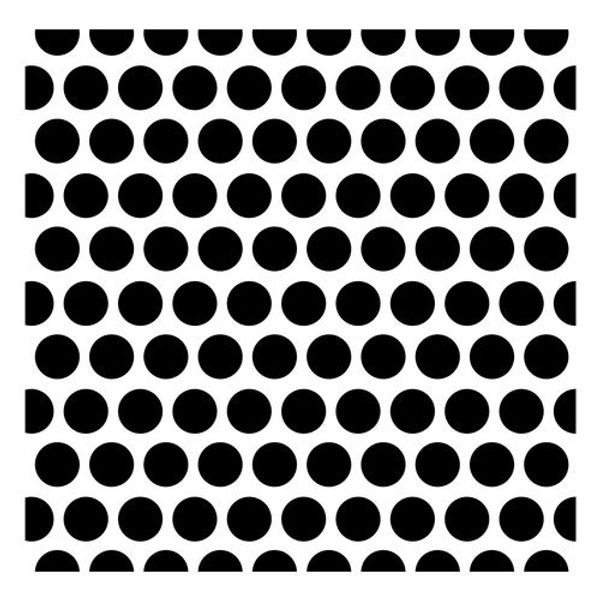 Stencil Dotted Pattern
