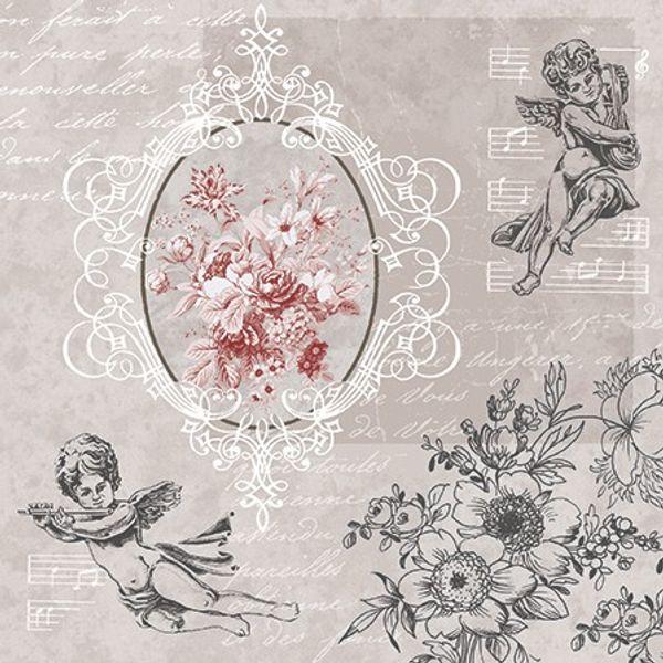 ANGELS AMONG FLOWERS