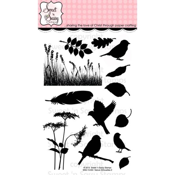 Nature Silhouettes 2 Stamps