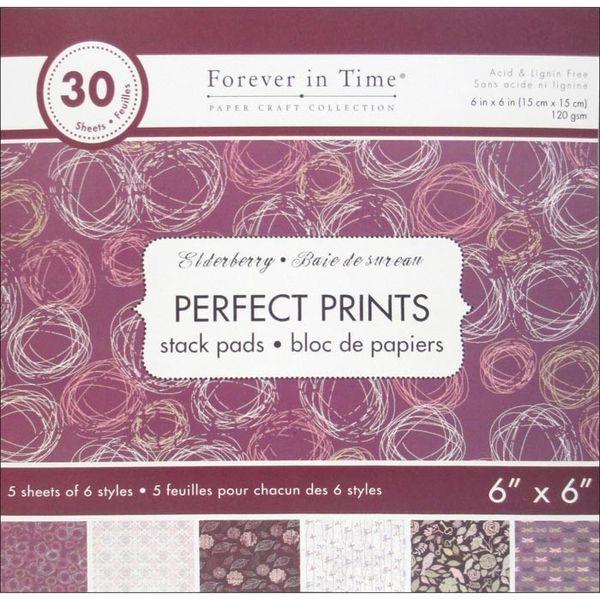 """Elderberry - Perfect Prints Stacks 6""""x6"""""""