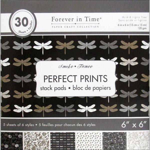 """Smoke - Perfect Prints Stacks 6""""x6"""""""