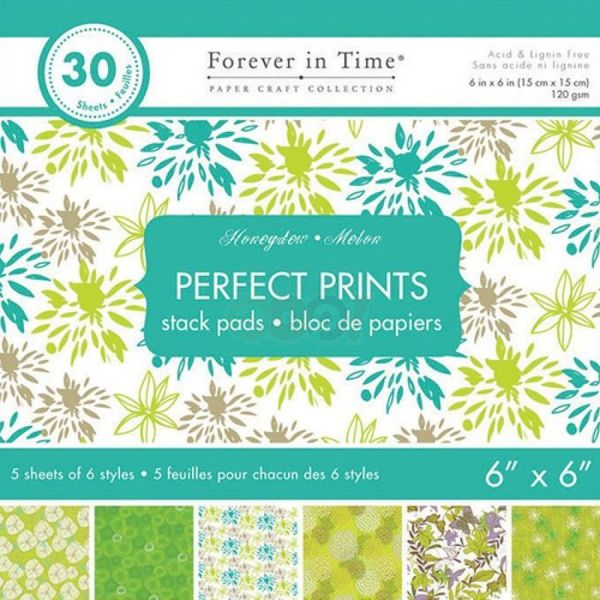 "Honeydew - Perfect Prints Stacks 6""x6"""
