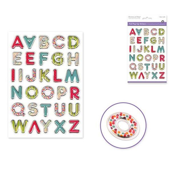 Vibrant Letters Sticker