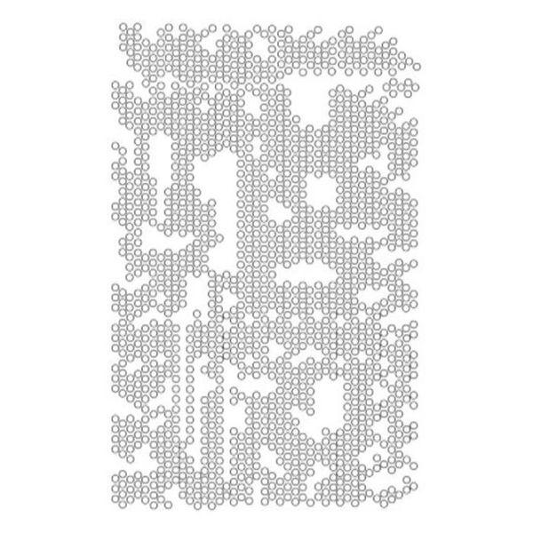 """Dot Matrix - Stencil 6"""" X 9"""""""