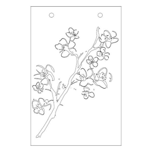 "Blossom - Stencil 6"" X 9"""