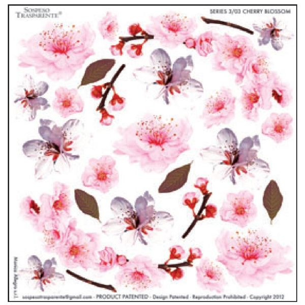 Cherry Blossom - Printed Plastic sheet