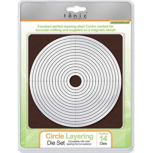CIRCLE LAYERING DIE SET