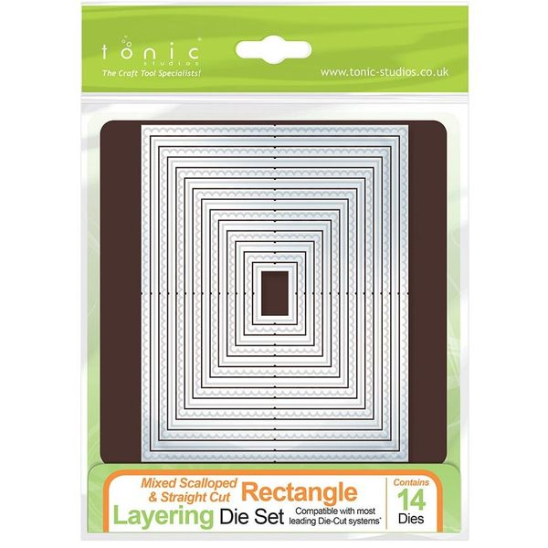 MIXED RECTANGLE LAYERING DIE SET