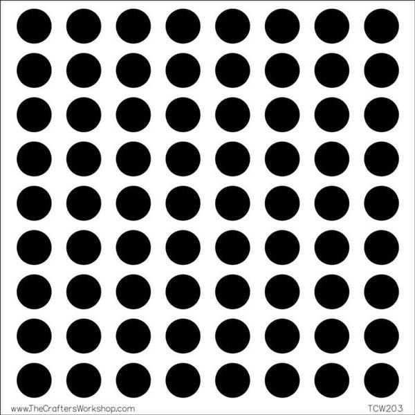 Circle Grid - Stencils