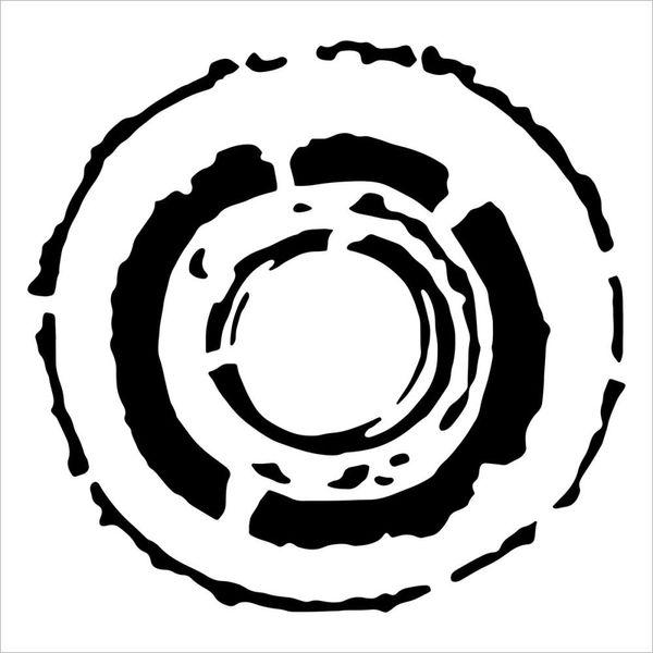 Ancient Wheel - Stencil