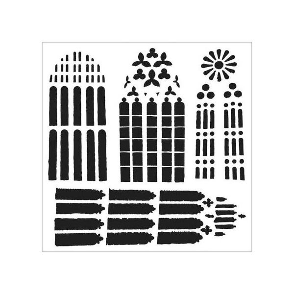 Church Windows - Stencils