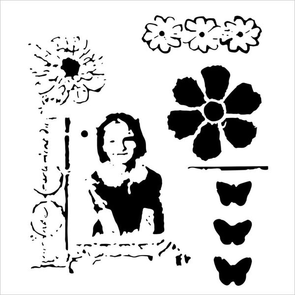 Class Picture - Stencils