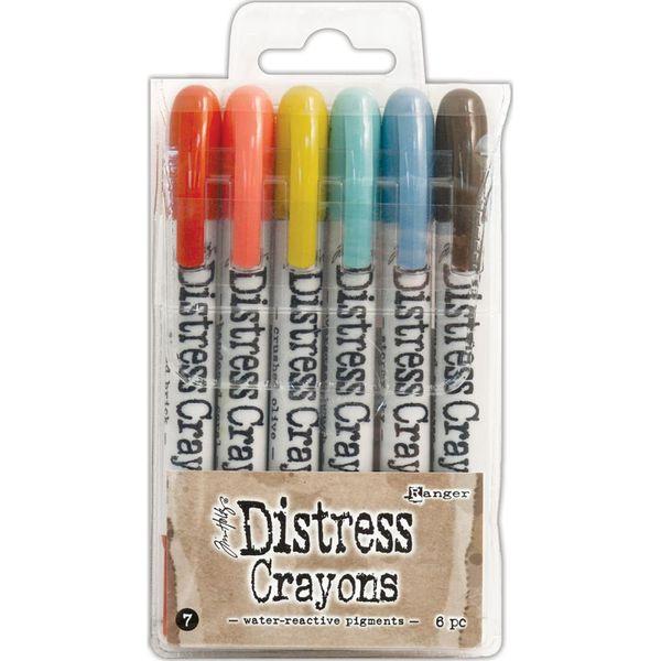 Tim Holtz Distress Crayon Set #7