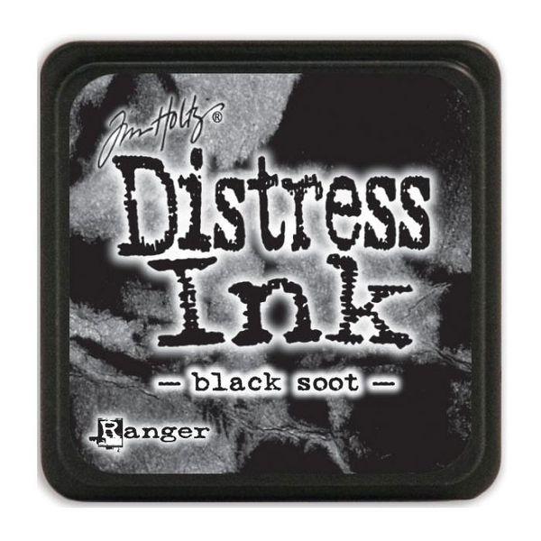 Black Soot - Mini  Distress ink pad