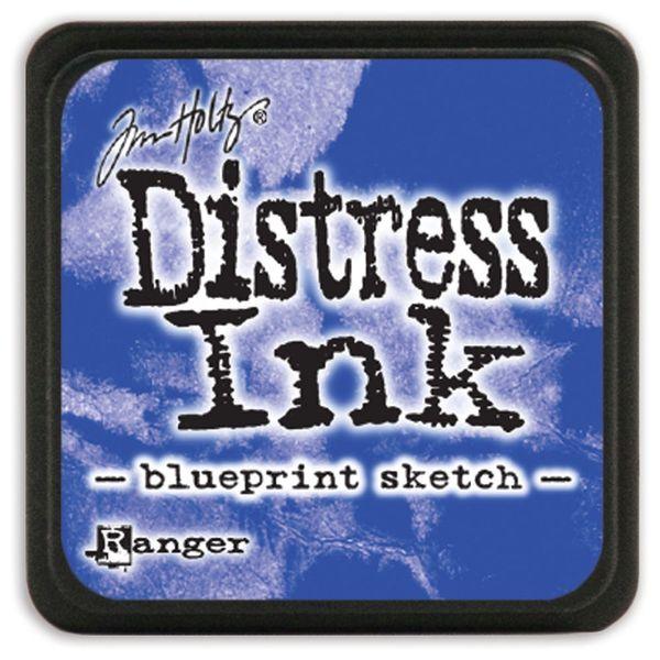 Blueprint Sketch - Mini  Distress ink pad
