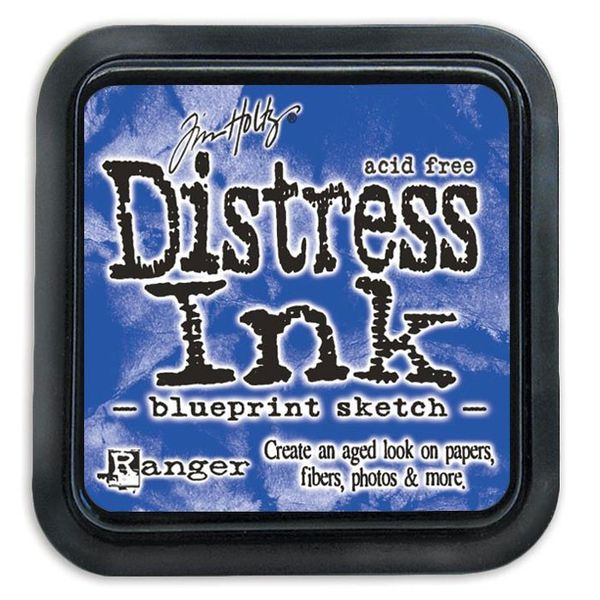 Blueprint Sketch - Distress Ink Pad