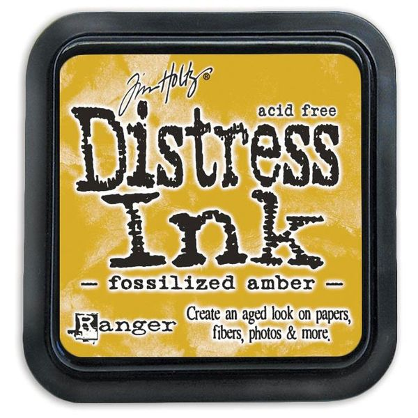 Fossilized Amber - Distress Ink Pad
