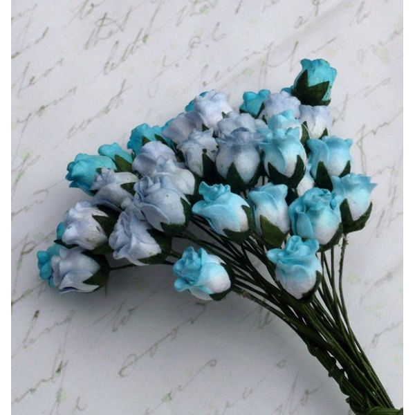 Blue Tone - Twisted Rose Buds Combo