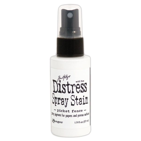 Picket Fence - Distress Spray Paint