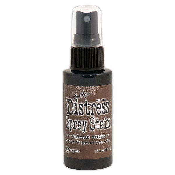 Walnut Stain - Distress Spray Paints