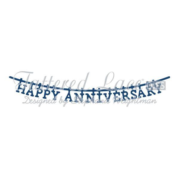 Washing Line Happy Anniversary