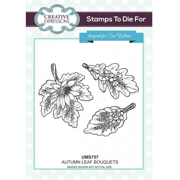 Autumn Leaf Bouquets - Stamp