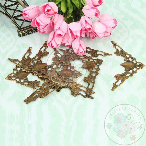 Victorian Corners - Antique Bronze