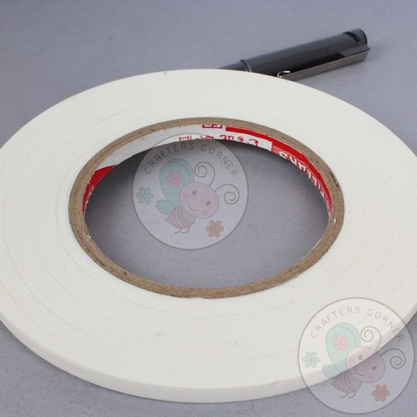 White Foam Tape - 6mm