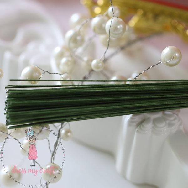 Flower Making Green Wire - 26 x 12