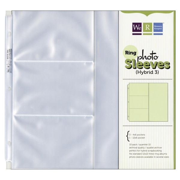 "4""X6"" &  12""X6"" Pockets  Photo Sleeves"