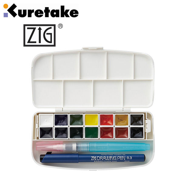 Watercolor 14 color set