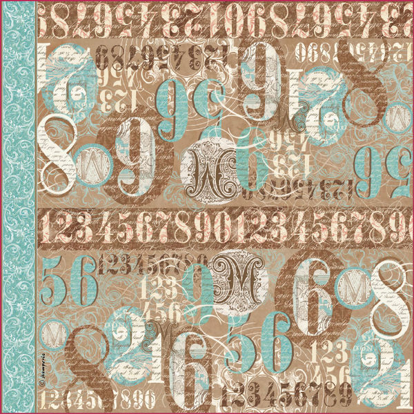 Calligraphy-Singel Napkin in Rice Paper