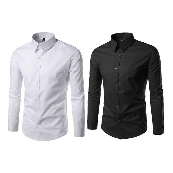 Party wear black shirt for men
