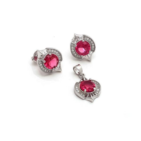 Pink designer pendant set at rupees 899 pink designer pendant set aloadofball Image collections