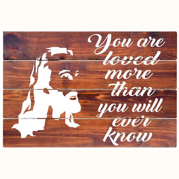 Thou Art Love - Rustic Wall Board
