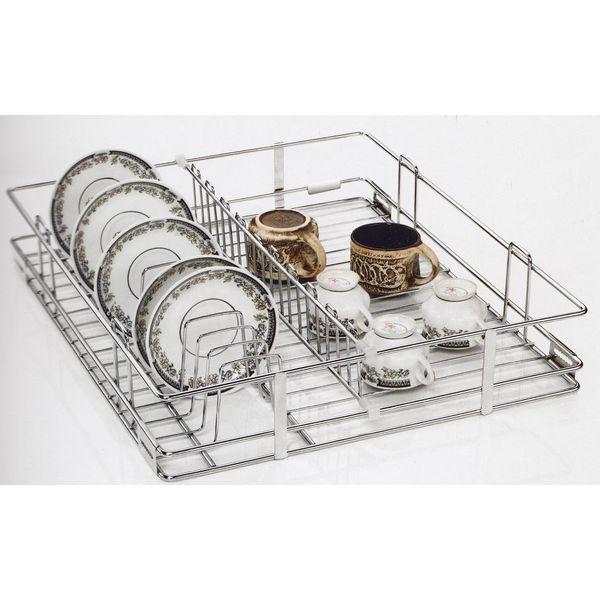 Niceware | CUP & SAUCER  BASKET | 17x20x4 Inch   431x508x101 MM