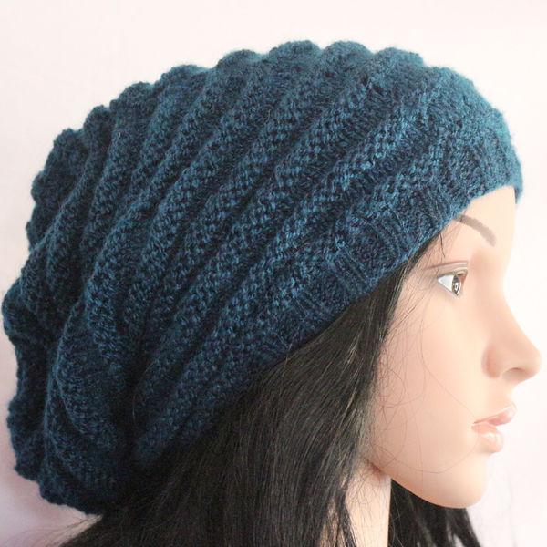 Leme Unisex Hand-Knitted Woolen Beanie Cap (Blue c161e5c2585